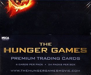The Hunger Games Movie Trading Cards Box (Neca)
