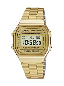Casio Dress Digital Mens Watch A168WG9 by Casio