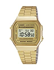 Casio Dress Digital Watch A168WG9