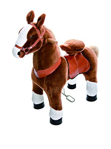 PonyCycle Small Horse, Brown/White