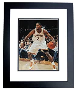 Kyrie Irving Autographed Hand Signed Cleveland Cavaliers 11x14 Photo - BLACK CUSTOM... by Real+Deal+Memorabilia