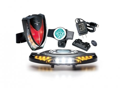 Magpie Turn Signal Lightset (Blinker, Headlight, Taillight, Brake) (BK-T3-00)
