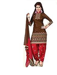 Trend Setter Women's cotton dress material