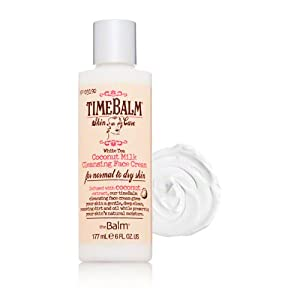 The Balm Cleansing Face Cream, Coconut Milk, 6 Ounce