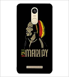 PrintDhaba Singing Man D-5376 Back Case Cover for XIAOMI REDMI NOTE 3 (Multi-Coloured)