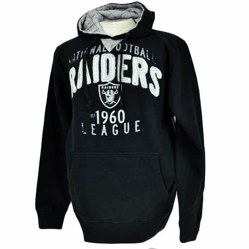 NFL Oakland Raiders Cotton Hoodie Hoody Sweatshirt Mens G-III Sports Small at Amazon.com