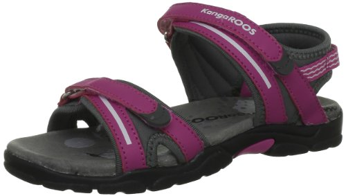 KangaROOS Corgi Sandals Girls Pink Pink (lillipilli/charcoal 628) Size: 13 (32 EU)