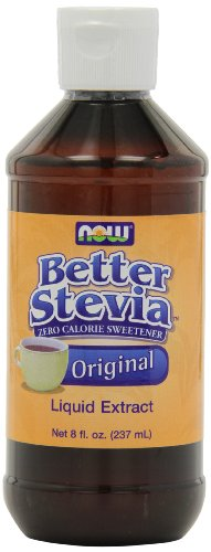 NOW Foods Better Stevia Original Liquid Extract,