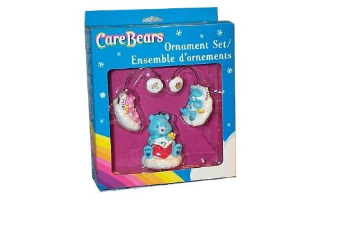 Care Bears Ornament Set - American Greetings 2006 front-222345