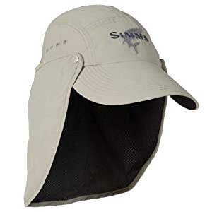 Simms sunshield hat tan fishing hats for Simms fishing hat