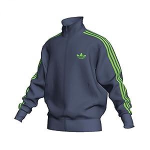 Adidas Herren Sweatjacke ADI-Firebird 743967/P47922 XS Dunkelgrau
