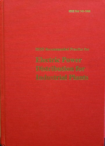 IEEE Std 141-1993, IEEE Recommended Practice for Electric...