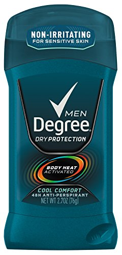 Degree Men Anti-Perspirant, Cool Comfort 2.7 Ounce (Pack of 6) (Packaging May Very)