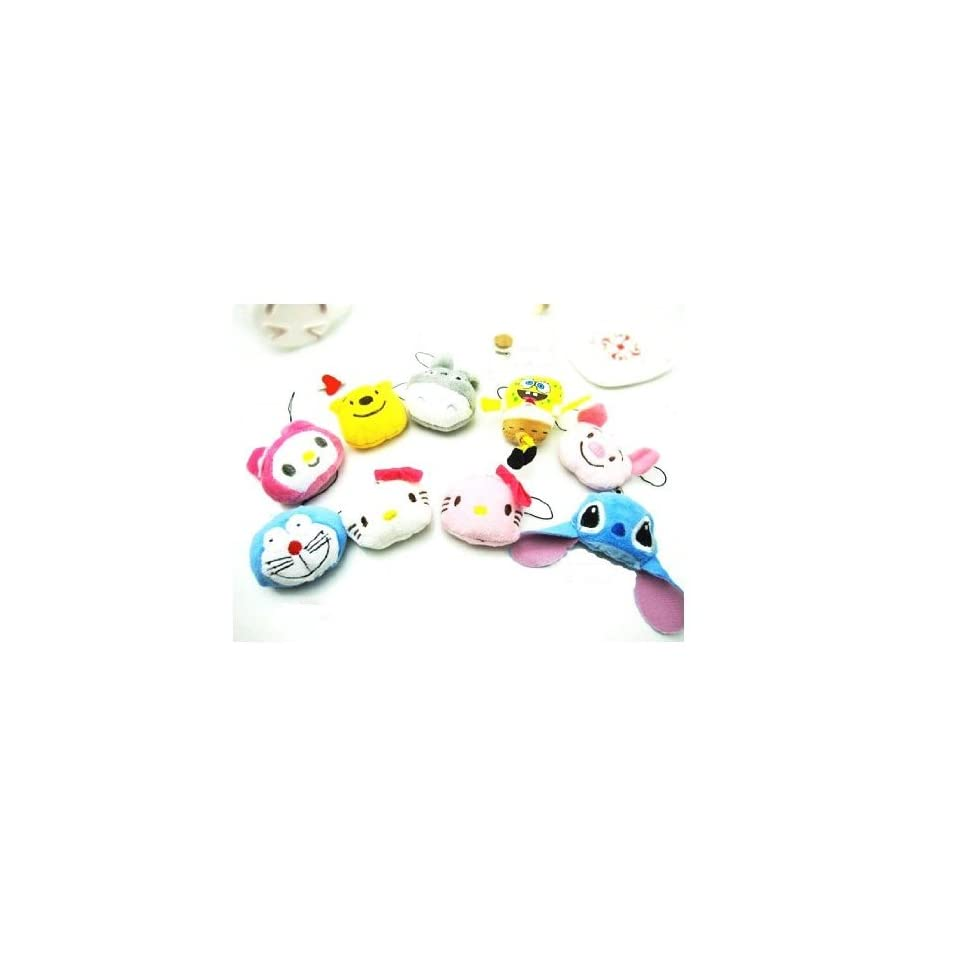 Cute Hello Kitty Face Cell Phone Charms/Phone Chain/Phone Strap for Cellphones,pink