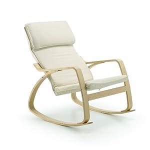 Sedia a dondolo reclinabile nel complesso molto bene - Sedia a dondolo per allattamento ...