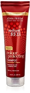 John Frieda Radiant Red Colour Protecting Shampoo, 8.45 Ounces (Pack of 2)