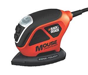 Black & Decker MS600B Mouse Sander Polisher with Zone Touch