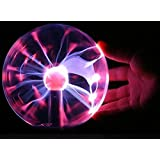 Best Expressに対応交換用 USBプラズマボール 魔法のランプ マジック カラーフル ディスコ照明ライト 雷球  科学おもちゃ  パーテイーや祭りや室内装飾などに適用 電子マジックボール USB Magic Plasma Ball Light Disco Lighting Sphere Night Lamp Desktop Xmas Light