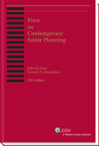 Price on Contemporary Estate Planning (2013)