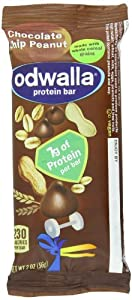 Odwalla Protein, Chocolate Chip Peanut, 15 - 2 oz Bars