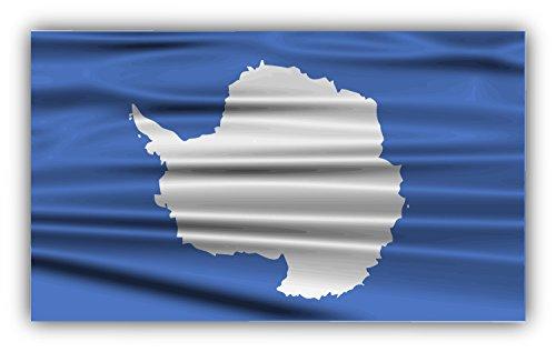 antarctica-flag-creased-decor-autocollant-de-voiture-vinyle-12-x-8-cm