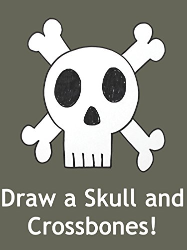 How to Draw to a Skull and Crossbones: Video Drawing Lesson for Children