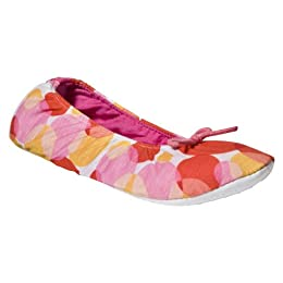 Product Image Xhilaration® Jersey Footie Slipper - Multi Dot