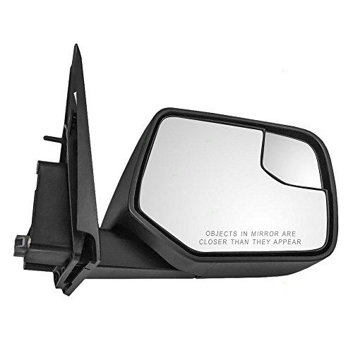 Passengers Power Side View Mirror with Blind Spot Glass Textured Replacement for Ford Mercury SUV AL8Z-17682-AA (2011 Ford Escape Mirror compare prices)