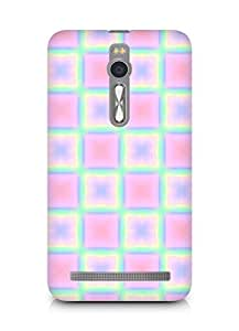 Amez designer printed 3d premium high quality back case cover forAsus Zenfone 2 (squares doodle abstract)