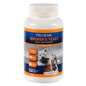 Pro Sense Chewable Brewer's Yeast Tablets, 250-Count (K1775)