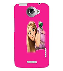 HTC ONE X BEAUTIFUL GIRL Back Cover by PRINTSWAG