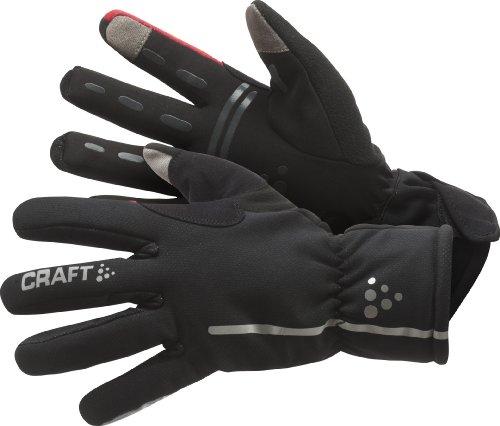 Craft Siberian, Guanti impermeabili da ciclismo, Nero (Black), M