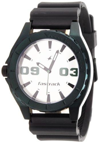 Fastrack Analog White Dial Mens Watch - NE9462AP01J