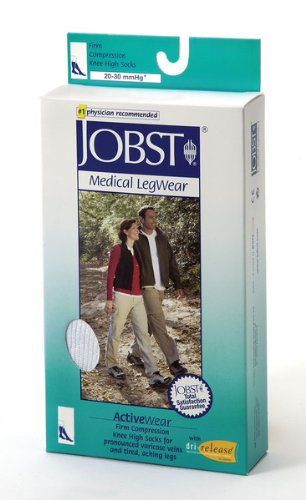 Stockings Jobst Active Wear 20-30 Knee-Hi Socks Medium