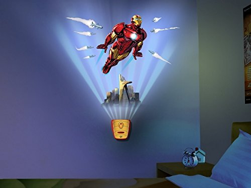 Uncle Milton Wild Walls Iron Man, Light and Sound Room Decor?