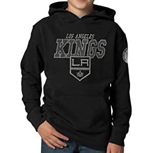 NHL Los Angeles Kings Playball Hoodie Jacket, Jet Black by