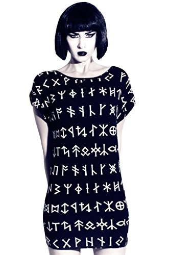 Killstar Rune Tunica dress Black XL/XXL