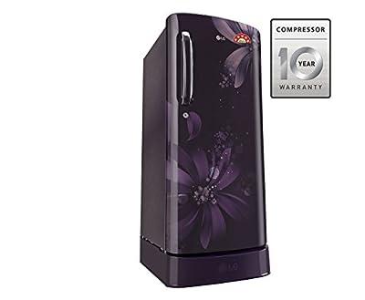 LG GL-D221APAN.DPAZEBN Direct-cool Single-door Refrigerator (215 Ltrs, 5 Star Rating, Purple Aster)