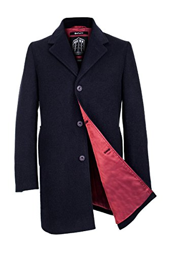 [Doctor Who Men's Twelfth Doctor's Coat (X-Large, Blue)] (Peter Capaldi Twelfth Doctor Costume)