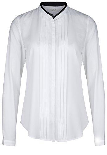 Replay - Camicia - Basic - Collo mao  - Maniche lunghe  -  donna bianco XL