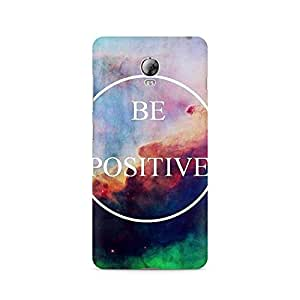 Motivatebox- Be Positive Lenovo Vibe P1 cover -Matte Polycarbonate 3D Hard case Mobile Cell Phone Protective BACK CASE COVER. Hard Shockproof Scratch-