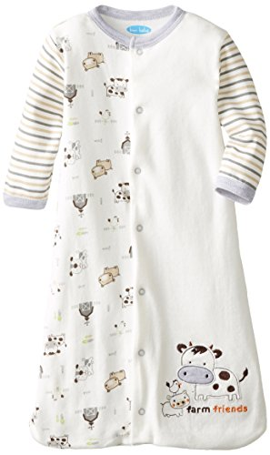 BON BEBE Unisex-Baby Newborn Farm Friends Sleep Sack