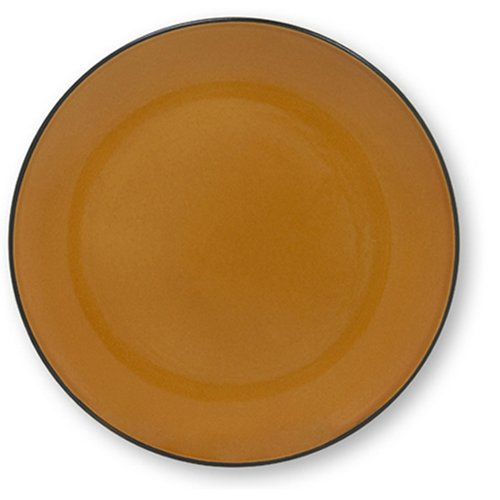 Buy Corelle Hearthstone 7-1/2-Inch Luncheon Plate, Cumin Orange