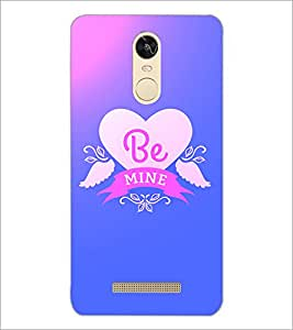 PrintDhaba Quote D-2868 Back Case Cover for XIAOMI REDMI NOTE 3 PRO (Multi-Coloured)