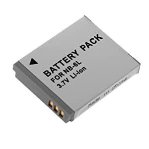 Neewer Nb-6L Replacement Battery For Canon Powershot Cameras