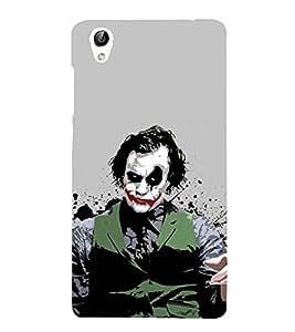 Vizagbeats Joker Facepainting Back Case Cover for Oppo F1 Plus