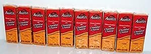 Austin Cheddar Cheese Sandwich Snack Crackers 11 Oz 8 Ct ...  |Austin Cheddar Cheese