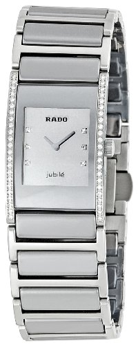 Rado Women's RADO-R20733712 Integral Silver Dial Watch