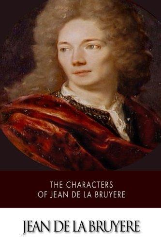 The Characters of Jean de La Bruyère