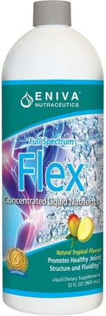 Flex Tropical Flavor (Glucosamine+, Joint) By Eniva - 32 Oz.